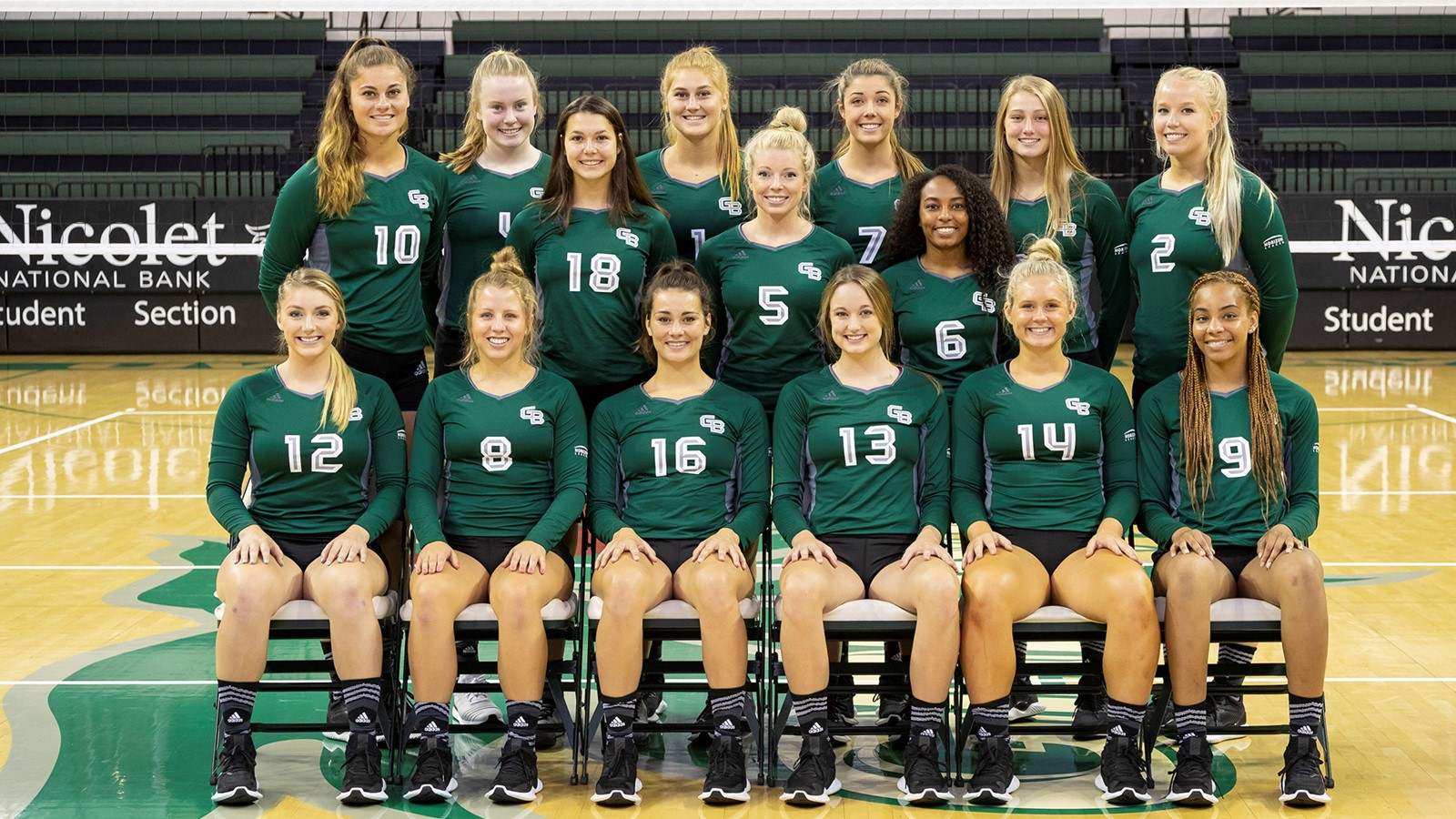2018 Women S Volleyball Roster University Of Wisconsin Green Bay Athletics