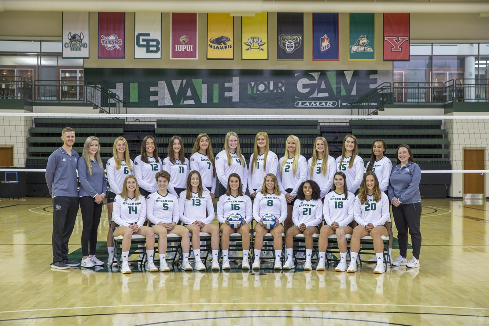 2019 Women S Volleyball Roster University Of Wisconsin Green Bay Athletics