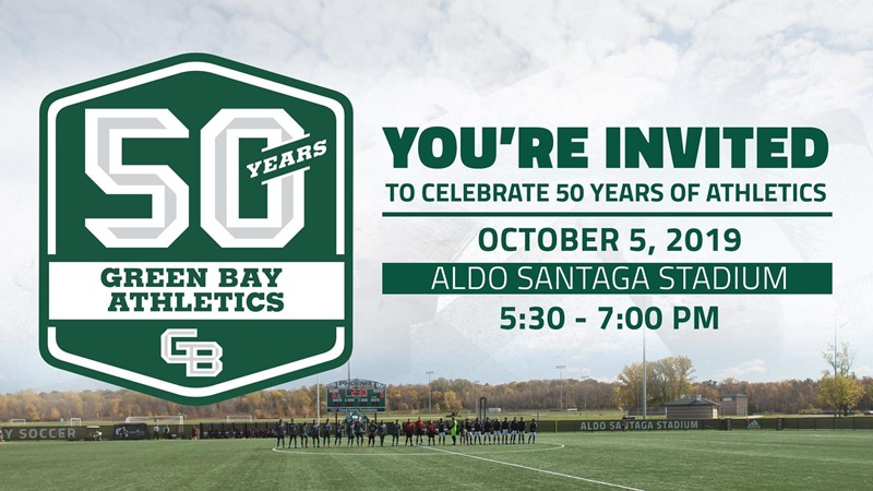 You're Invited - Green Bay Athletics Celebrates 50 Years