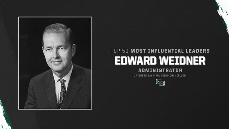 Top 50 Most Influential Leaders: Edward Weidner - University of Wisconsin Green Bay Athletics